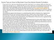 Some Tips on How to Maintain Your Gas Water Heater Cylinders