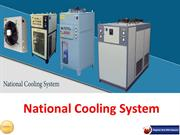 Manufacturer and Supplier of Cooling Units - National Cooling System