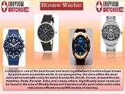 One of the best Leading Watch Review Sites | Ireview Watches
