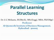 Parallel Learning Structures in Organization Development