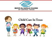 Child Care In Texas
