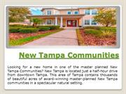 New Tampa Communities