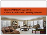 Types of Blinds - Energy Window Fashions