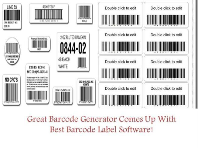 Great Barcode Generator Comes Up With Best Barcode Label Software