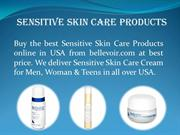 Sensitive Skin Care Products