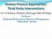 Third Party Interventions