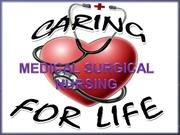 Introduction -to medical surgical nursing