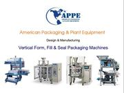 Vertical Form Fill Seal Machines - APPE