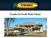 Condos In North Padre Island