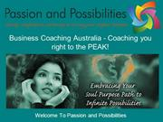 Business Coaching Australia - Coaching you right to the PEAK