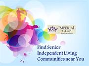 Find Senior Independent Living Communities near You