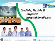 Accurate Hospital Email Lists in US | B2B Marketing Archives