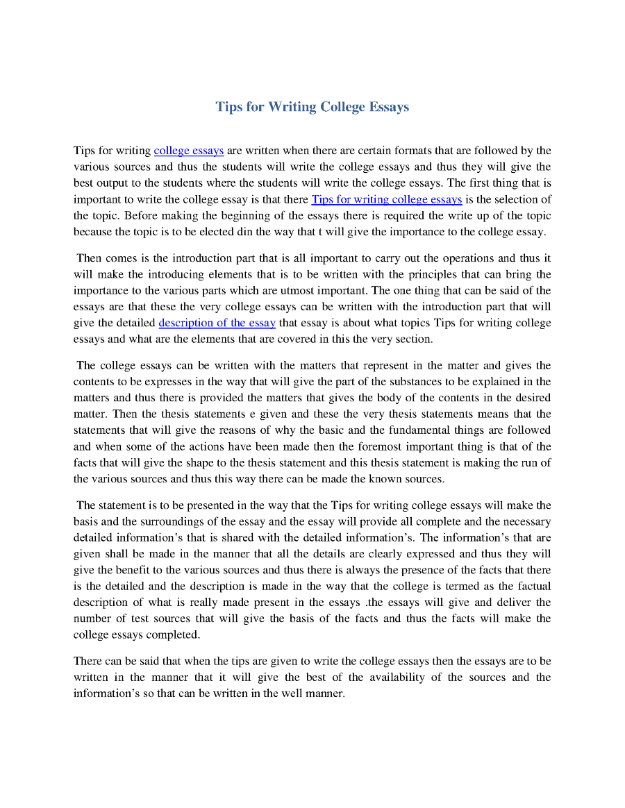 tips on writing college essays Equal pay act research paper college essays tips pay someone to write my research paper essays for sale on cold mountain.