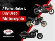 Tips to Buy Used Motorcycles in Severna Park