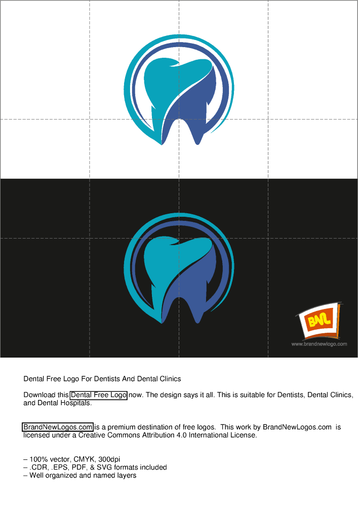 Title Dental Free Logo For Dentists And Clinics