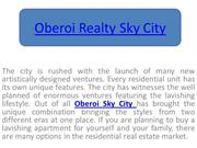 Oberoi Sky City – Beneficial investment option In Mumbai
