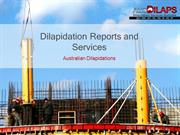 Dilapidation Reports and Services
