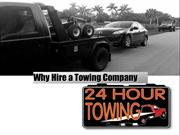 Why Hire a Towing Company