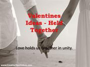 Valentines Ideas - Held Together