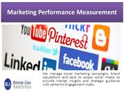 Marketing Performance Measurement