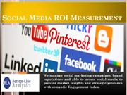 Social Media ROI Measurement