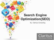 SEO Beginner's Guide - Claritus Consulting