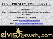 New Year offer on all Elvis Jewellery from elvis-jewellery-direct.com