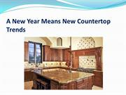 A New Year Means New Countertop Trends