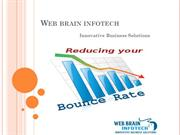 Reducing the Bounce Rates of Your Website