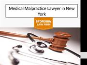 Medical malpractice lawyer in New York