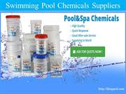 swimming pool chemicals suppliers