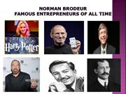 Norman Brodeur | Famous Entrepreneurs of All Time