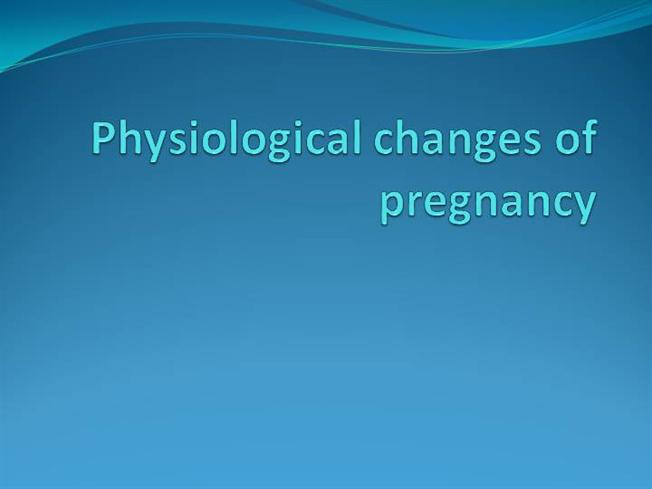 Physiology of pregnancy. Cardiovascular, respiratory and hematology.