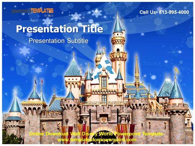 disney powerpoint template