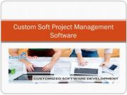 Custom Soft Project Management Software