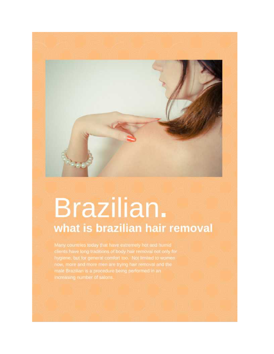 What is Brazilian Hair Removal Wax for Women |authorSTREAM