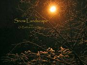 Winter 23-Snow Landscape-On earth as it is in heaven
