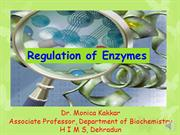 Regulation of enzyme (audio assisted)