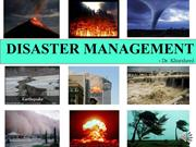 04 LECTURE-DISASTER MANAGEMENT