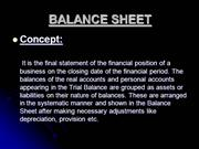 PPT-BALANCE SHEET