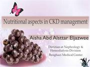 ‫Nutritional aspects in CKD management  pptx