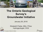 OGS Groundwater Initiative