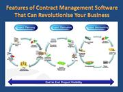 Features of Contract Management Software That Can Revolutionise Your B