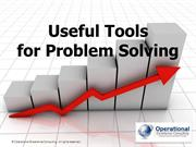 Useful Tools for Problem Solving