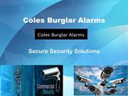 Commercial Security Systems In Sydney - Coles Burglar Alarms