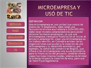 microempresas y uso de las TIC