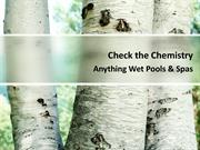 Anything Wet Pools & Spas - Check the Chemistry