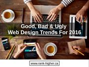 Web Design Trends You Must Know For 2016
