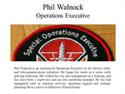 Phil Walnock Operations Executive