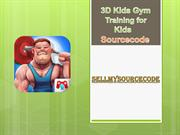 3D Kids Gym Training For Kids Game Sourcecode